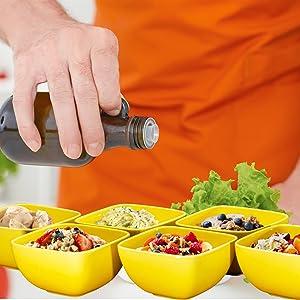 Porcelain Fluted Bowl Set - 26 Ounce for Cereal, Soup Bowls for Cereal, Salad, Dessert