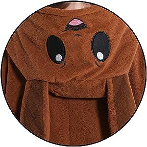 Cute design Details of Pokemon adult unisex onesie costume