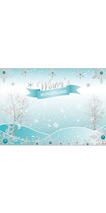 Allenjoy 10x8ft Merry Christmas Backdrop Winter Signpost Photography Santa Tacky Snowflake for Family Holiday Newborn Birthday Party Decoration Supplies Favor Decor Banner Kid Baby Shower Studio Props