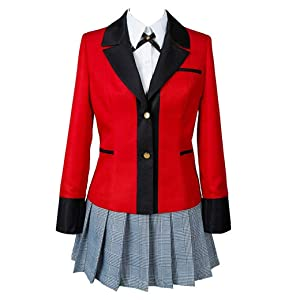 kakegurui cosplay costume anime animated series halloween