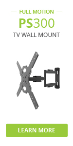 ps300 full motion tv wall mount