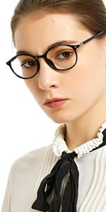 Round Reading Glasses Spring Hinge for Women 1.0 1.25 1.5 1.75 2.0 2.25 2.5 2.75 3.0 3.5