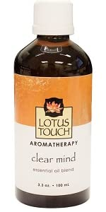 Lotus Touch Essential Oil Blend, 100 ml, Clear Mind