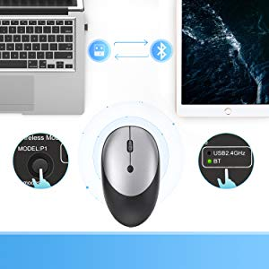 Bluetooth and 2.4G Dual mode Wireless Mouse