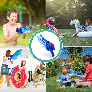 water gun for kids toy super soaker squirt guns gun water blaster for beach pool summer large tank
