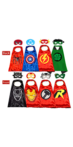 Avengers Costumes 3-10 Year Old Boys Best Toys 4PCS