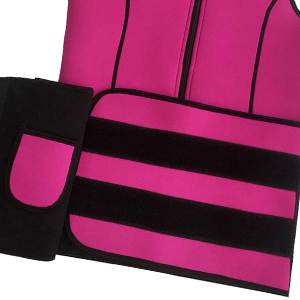 Neoprene Sauna Slimming Vest with Adjustable Waist Trimmer Belt