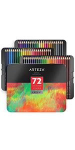 ARTZ-8073_ProfessionARTZ-8072_Professional Colored Pencilsal_Watercolor_Pencils_72