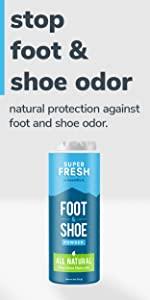 superfresh shoe and foot powder