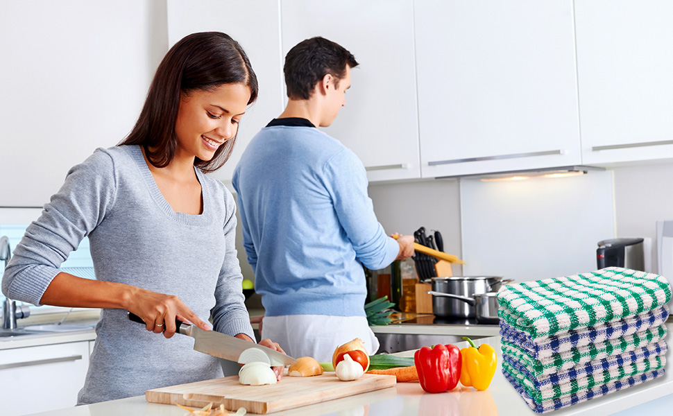 Tackle Your Kitchen Works With our Dish Towels/Dish Cloths