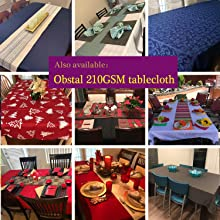 210GSM table cloth