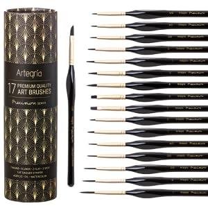 artegria precision seres brush set