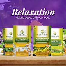 Relaxation teas, Herbal teas, Chamomile, Digestive Teas