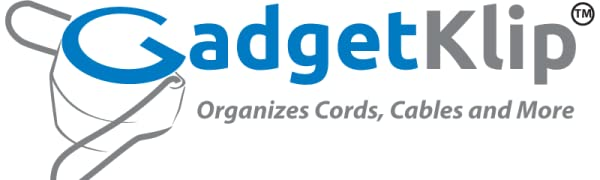 GadgetKlip is a chaos corralling marvel that organizes Cords, Cables, Wires, Plants, Life and More!