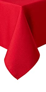 red tablecloth, red formal tablecloth, best table cloth, clearance tablecloth