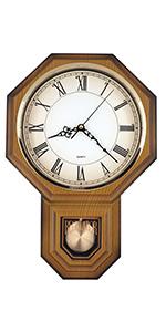 Roman Pendulum Wall Clock