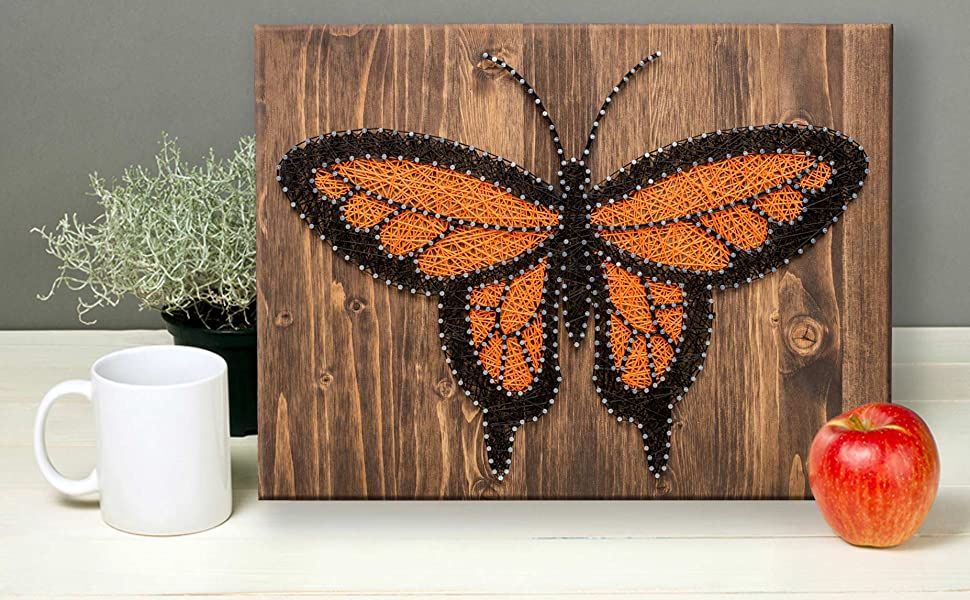 butterfly string art kit