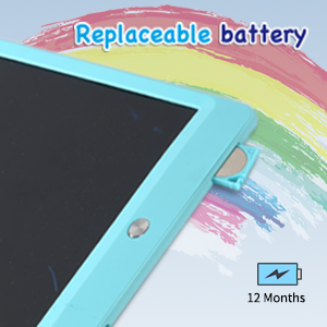 LCD Writing Tablet 10 Inch,Colorful Magnetic Doodle Board Drawing Board,Erasable Writing Pad