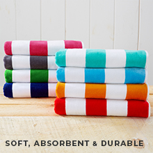 soft absorbent durable beach towel