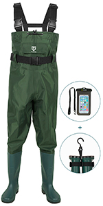 PVC chest wader