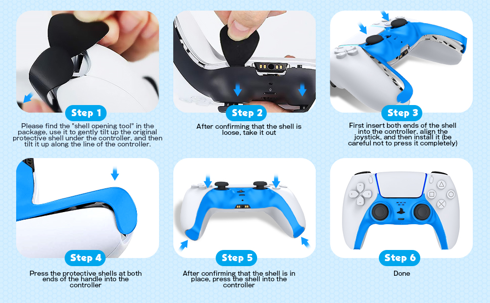 ps5 controller faceplate