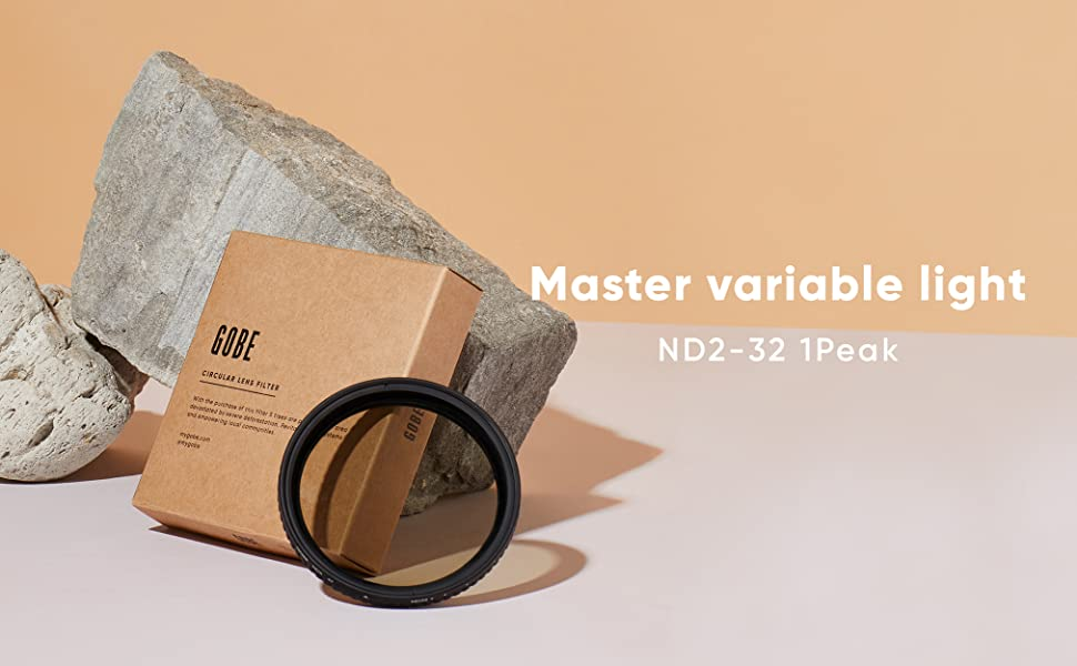 gobe nd, nd filter, filter nd, variable nd, filter variable ND2-32, filter variable ND, nd
