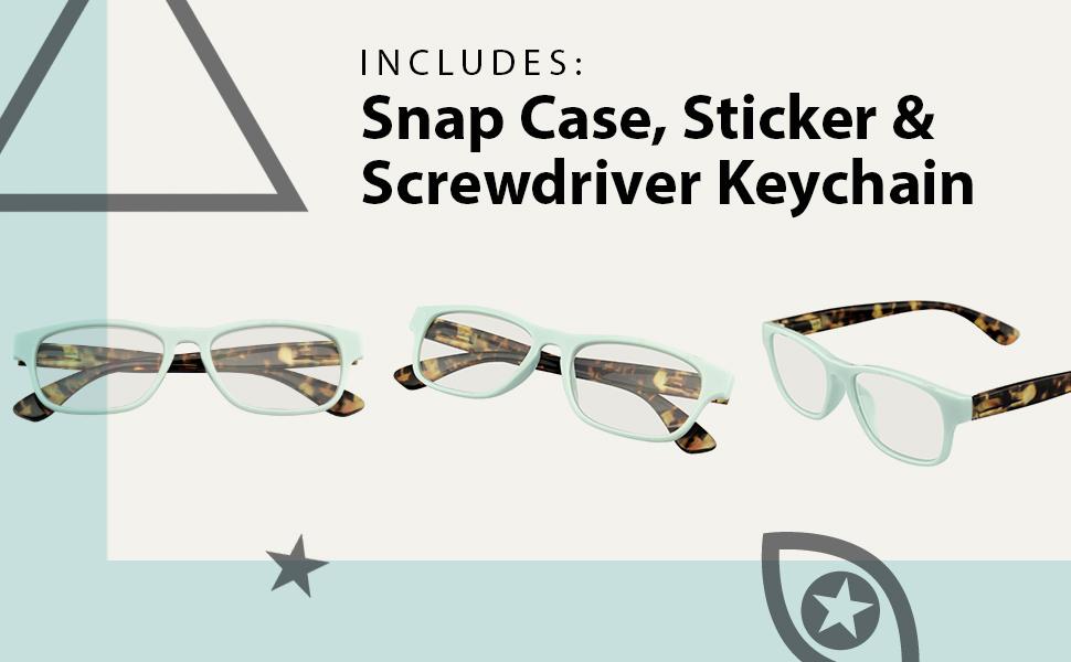 Horn Rimmed Horned Rim Mens  Womens 100% UV presbyopic Bifocals Eyeglasses Magnifier Power Strength