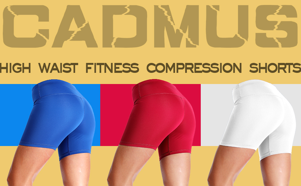 High waist fitness compression shorts/Workout/Fitness/Daily life/yoga