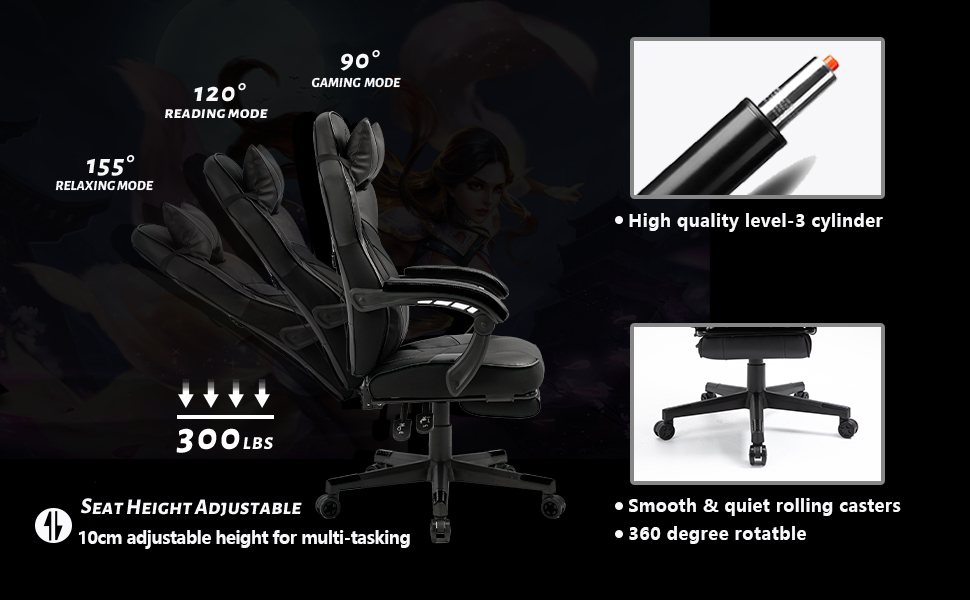 AJS GAMING CHAIR