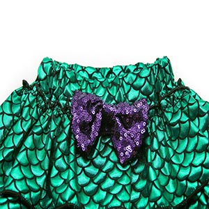 3pcs mermaid princess costume outfits dress up cosplay clothes party Halloween HG076-115