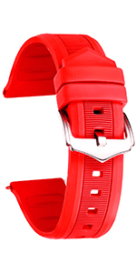 Silicone Rubber watch band
