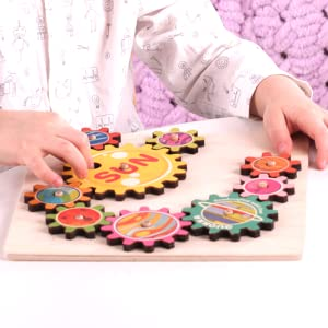 Kids Boys Girls 1 2 3 4 Years Old Age Toddler Puzzle Wooden Puzzles Wood Toddlers Games Board Toys