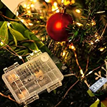usb battery home christmas tree room indoor outdoor decor string lights wedding party girl dreamy