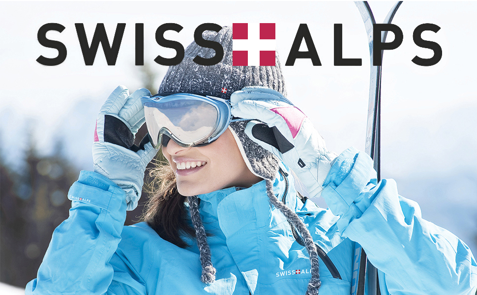 Swiss Alps Women's Waterproof Windproof Breathable Ski Pants
