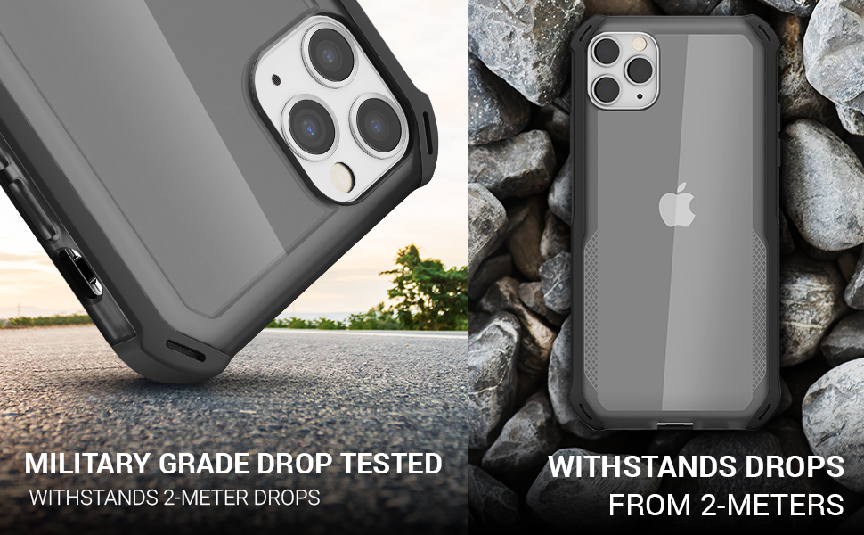 iPhone 11 Pro Max Clear Case Thin Shockproof Bumper Phone Cases Cover Protective Covers Skin Armor
