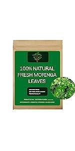 Fresh Moringa Leaves, Fresh Moringa Tea