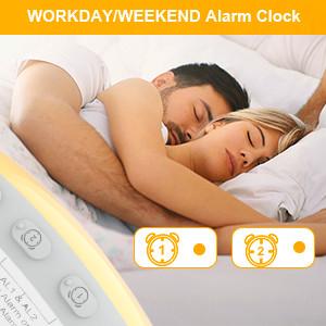 weekend alarm clock