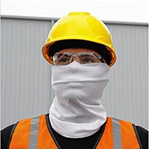 Sleefs Neck Gaiter Face Covering White