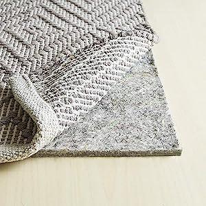 3/8 inch felt rug pad