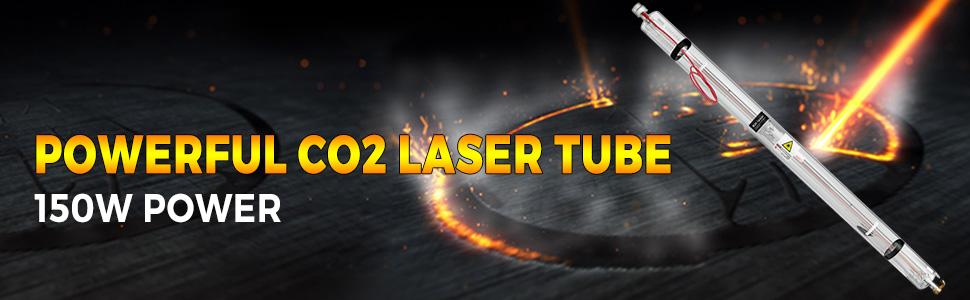 150w laser tube