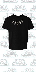 Superhero Movie Comic Book Costume I Love You 3000 Youth Kids Girl Boy T-Shirt