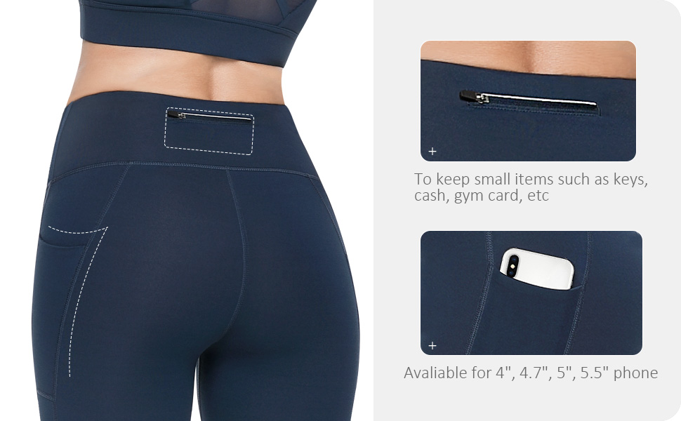 leggings for women with side pockets