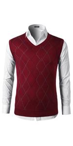 mens v neck sweater vest