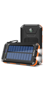 solar phone battery charger, solar charger 20000mah, solar power battery bank, solar usb power bank