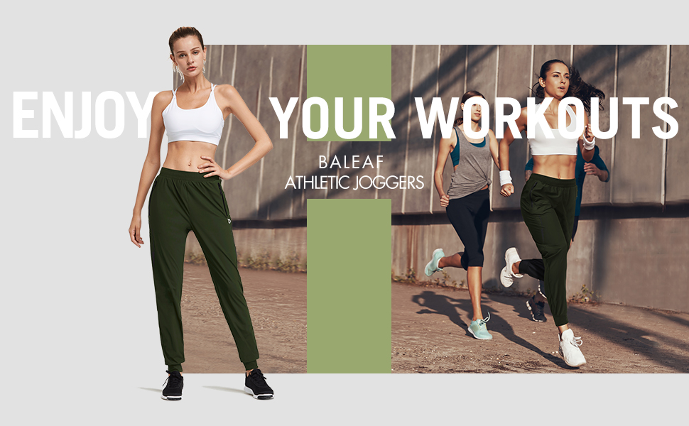 womens quick dry joggers