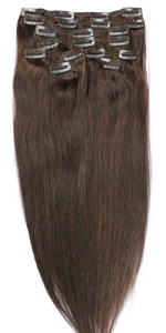 140g Clip in hair extensions