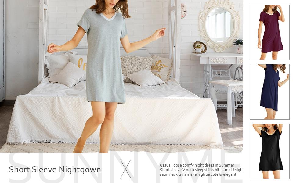 summer nightgowns for women