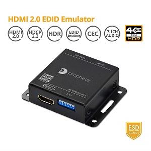 EDID emulator repeater HDMI 2.0 pass through