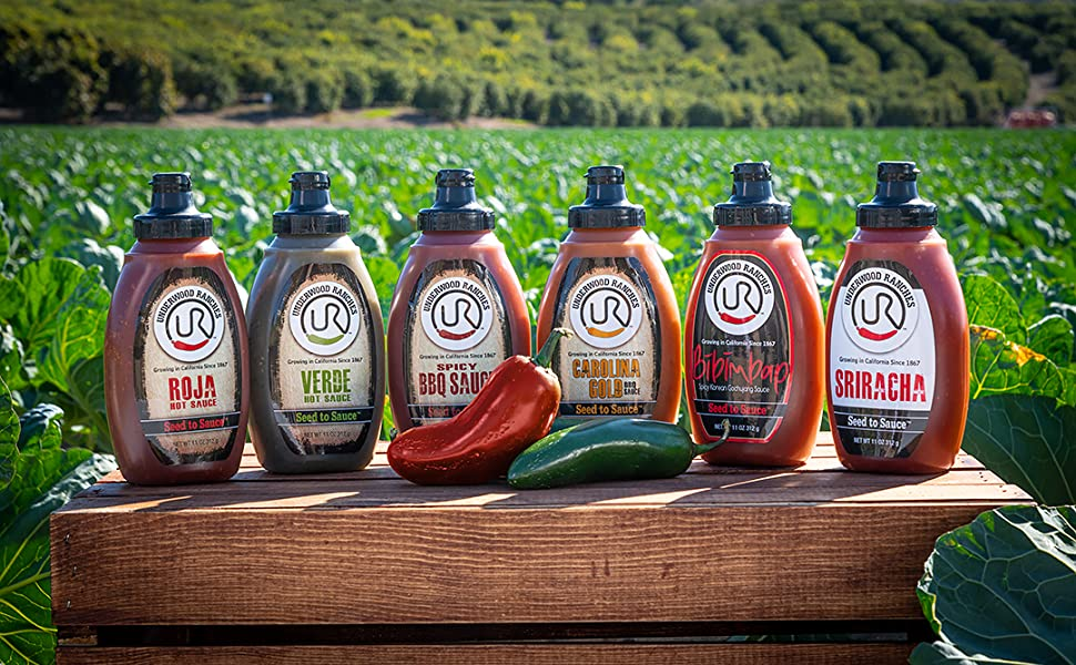 underwood ranches pepper based hot sauces no preservatives