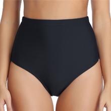black bikini bottom